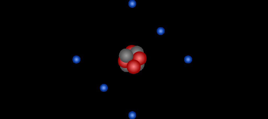 Model budowy atomu Nielsa Bohra
