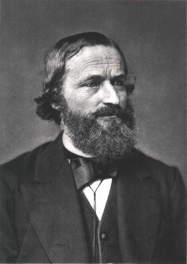 Portret Gustava Kirchhoffa